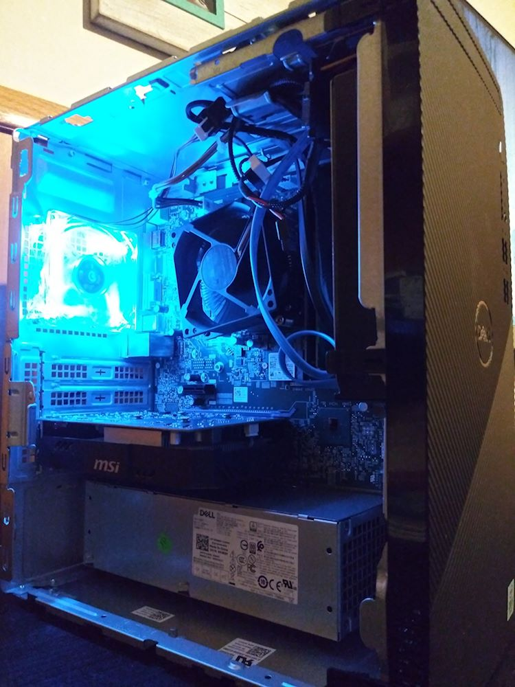 Dell Inspiron 3880 with led fan